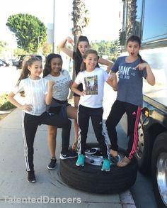 Maddie, Nia, Kendall, Mackenzie, and Kalani