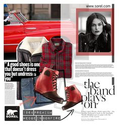 """The 1964 Premium Wedge from SOREL: Contest Entry"" by milica1940 ❤ liked on Polyvore featuring Rick Owens, SOREL, rag & bone and sorelstyle"