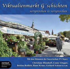 Hörbuch: Viktualienmarkt G'schichten, 1 Audio-Cd  Von Gerhard Acktun, Audiobooki w języku niemieckim