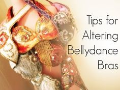Victoria Teel's Tips for Altering Bellydance Bra Tops - YouTube