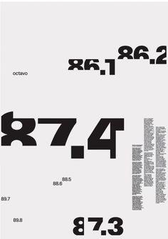8vo / Eight Five Zero Publishing / Folding Poster for Octavo / ...