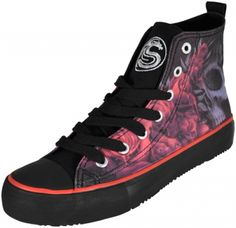 Chaussures Femme SPIRAL - Blood Roses - Chaussures - RockAGogo.com #Gothique #Baskets