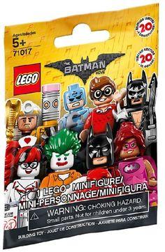LEGO-Minifigures Batman Movie Series 2 x 1 lance pour l/'horloge King pièces