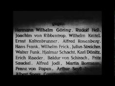 Nuremberg - A documentary which every human should see. The tragic state of Post WW2 Europe and the evil Nazi Third Reich leaders on trial for the heinous crimes of the Holocaust against Jews, Christians, Gypsies, and other German minority groups.          Tags: Nuremberg Trial Trials Nazi Nazis Third Reich Holocaust Jews Jewish Eisenhower Roose...