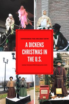 Transport yourself to A Dickens Christmas this coming holiday. From west to east, Christmas in America will be more fun when you visit Dickens Christmas Village. #adickenschristmas #christmasinamerica #christmasholiday