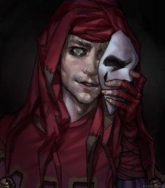 Jester (Darkest Dungeon) by badomens