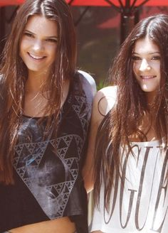 Kendall and Kylie Jenner <3