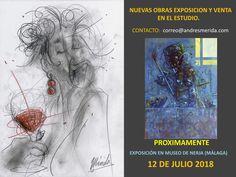 NUEVAS OBRAS DISPONIBLES EXPOSICIÓN Y VENTA - Andrés Merida Pintor