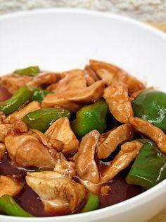 Simple dinner ideas - Tender chicken in hoisin sauce