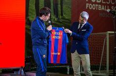Barcelona Buka Akademi Pertama di Moskow, Rusia