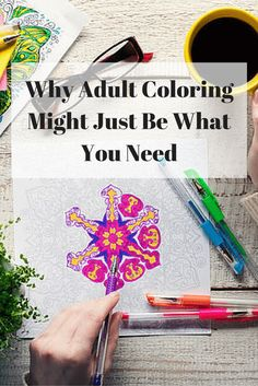 I Have Been Coloring My Entire Life But Some Of The Studies And Benefits Shown In