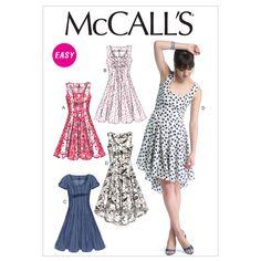 Misses' Dresses-A5 (6-8-10-12-14) PatternMisses' Dresses-A5 (6-8-10-12-14) Pattern,