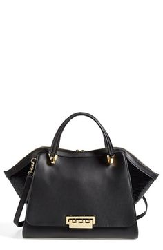 Zac Zac Posen  Eartha  Double Handle Leather Satchel available at   Nordstrom Purse Wallet cea3f6ddde5