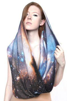 Sagan Galaxy Scarf
