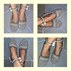 Ravelry: ADULT HAPPY SCRAP-SHOES - Basic Slipper Crochet Pattern pattern by Ingunn Santini