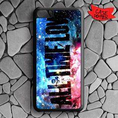 All Time Low Galaxy Nebula iPhone 5C Black Case