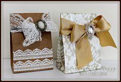 Mazzy's Craft Corner : How to make a vintage inspired elegant gift bag