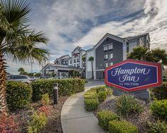 Hampton Inn San Francisco-Airport Hotel, CA - Hotel Exterior