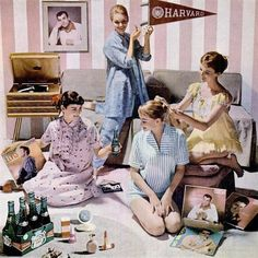 Sleepover Party Ideas For Adults - i love this concept.  where is it happening? Oh how stress relieving to have a night in with just the girls, no kids, no men.....