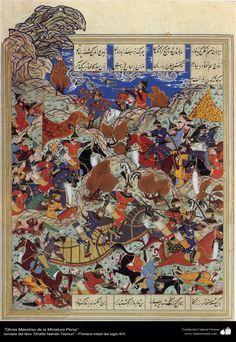 Persian Miniature - ZafarNama Timuri