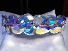 AB Swarovski Crystal Crown by sewirishiam on Etsy, $85.00