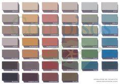 ¿Ideas para decorar tu casa? Use pisos mosaicos y baldosas hidráulicas de cemento Conipisos.  #paleta de #colores #piso #azulejos  #mosaico #mosaic #palette  #colors  #painting #paintcolor #pintura #mosaicos  #nicaragua Interior Exterior, Eyeshadow, Painting, Ideas, Tiles, Tiles, Mosaics, House Decorations, Cement Floors
