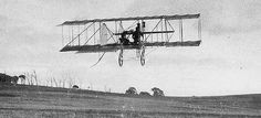 Lawrence Hargrave began experimenting with the box kite in the 1880s and achieved the first powered flight in 1894 when he added a small engine to four box kites.