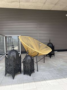 Ancestral 3 Pieces Black Moroccan Floor Lantern  This lantern is one of the most famous classical candle lanterns in Morocco. The floral metal is both chiseled and molded together by hand. It is finished with an aged and rustic patina. They are incredibly versatile and are equally effective at home or outdoors. Beautiful when it is on, you will get that 1001 night dream atmosphere in your garden. Just imagine thoses gorgeous lanterns by a pool, giving your patio an extra dimension…. H Design, Candle Lanterns, Outdoor Furniture, Outdoor Decor, Wrought Iron, Morocco, Wicker, Canada, Outdoors