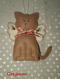 cat - please see Felt - Dogs for my fellow dog angel