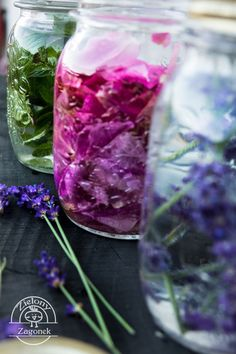 Love Eat, Edible Flowers, Glass Vase, Vegetables, Drinks, Smoothie, Nature, Plants, Recipes