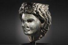 An Expressive Greek Head of a Satyr - Baidun Baidun