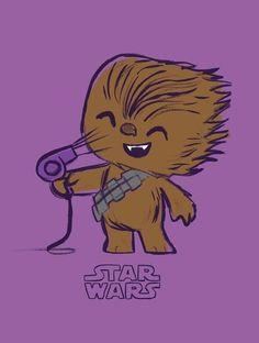 Star Wars Chewbacca Pop Tee by Funko, FYE exclusive (Geek Stuff Hair) Objet Star Wars, Star War 3, Star Wars Humor, Love Stars, Geek Out, Star Wars Art, Star Trek, Belle Photo, Pop Culture