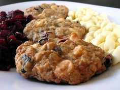 Baked Perfection: White Chocolate Chip Cranberry Oatmeal Cookies