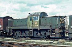 Railway Herald :: Imaging Centre :: at Cardiff Canton MPD Electric Locomotive, Diesel Locomotive, Britain Uk, Great Britain, Railway Posters, Electric Train, British Rail, Train Tracks, Diesel Engine
