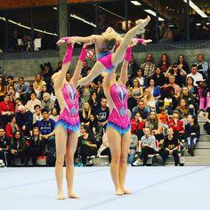 Gymnastics Suits, Gymnastics Leotards, Acrobatic Gymnastics, Lift And Carry, Yoga Fitness, Yoga Poses, Cheerleading, Amy, Dancing