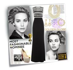 """""""Most Fashionable Nominee"""" by missofngrier ❤ liked on Polyvore featuring White Label, Post-It, Roberto Cavalli, Chanel, Assael, Judith Leiber and Christian Louboutin"""