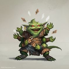 Characters for the role-playing game Pathfinder. Goblin Art, Goblin King, Character Concept, Character Art, Character Design, Character Ideas, Fantasy Images, Fantasy Rpg, Dnd Characters