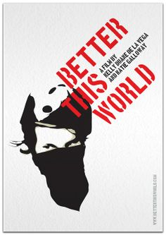 Better This World documentary movie poster