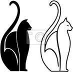 Resultado de imagem para gatos estilizados