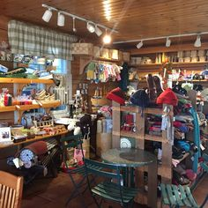 The nice Finnish country  shop