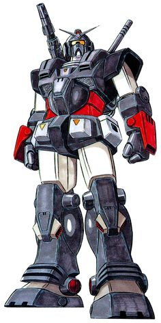 The FA-78-2 Heavy Gundam, like the FA-78-1 Gundam Full Armor Type, never appeared in any actual animated form, but it is an official MS-X mobile suit variations.