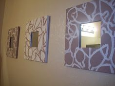 I Can Find The Time: Painted Mirrors