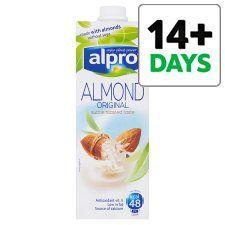 Alpro Almond Longlife Milk Alternative 1L - Groceries - Tesco Groceries