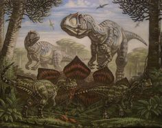 Allozaurus young Ceratosaurus by ABelov2014 on DeviantArt