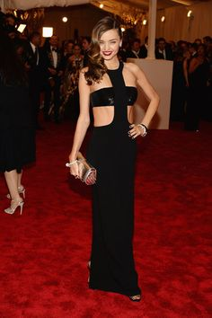 Miranda Kerr at the Met Gala 2013