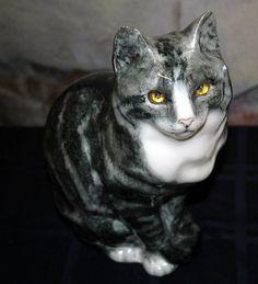 Antique Porcelain Cat by stowawayantiques on Etsy, $375.00