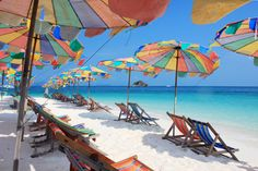 Beach Chairs and Umbrellas puzzle in Puzzle of the Day jigsaw puzzles on TheJigsawPuzzles.com. Play full screen, enjoy Puzzle of the Day and thousands more.