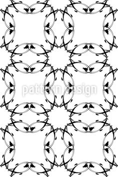 Gothic Floral http://www.patterndesigns.com/en/design/7457/Gothic-Floral
