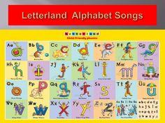 Letterland Alphabet Songs