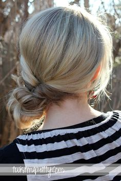 Topsy Tail Revisited- Messy Bun